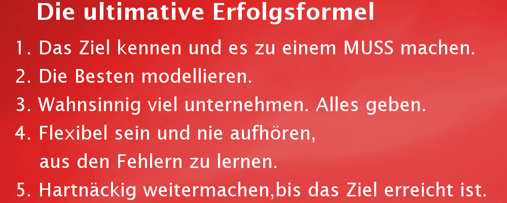 ultimativeerfolgsformel